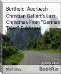 "Christian Gellert's Last Christmas From ""German Tales"" Published"
