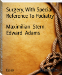 Surgery, With Special Reference To Podiatry