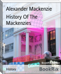 History Of The Mackenzies