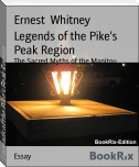 Legends of the Pike's Peak Region