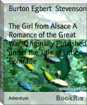 The Girl from Alsace A Romance of the Great War, Originally Published under the Title of Little Comrade