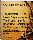 The Relation Of The Hrolfs Saga Kraka And The Bjarkarimur To Beowulf A Contribution To The History Of Saga Development