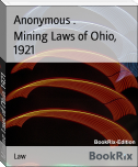 Mining Laws of Ohio, 1921