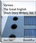 The Great English Short-Story Writers, Vol. 1
