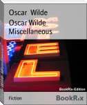 Oscar Wilde Miscellaneous