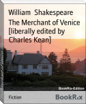 The Merchant of Venice [liberally edited by Charles Kean]