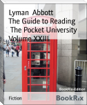 The Guide to Reading        The Pocket University Volume XXIII