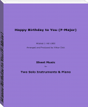 Happy Birthday to You (F-Major)
