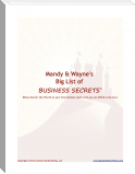 Mandy&Wayne's Big List of Business Secrets