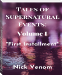 Tales of Supernatural Events