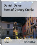 Etext of Dickory Cronke