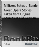 Great Opera Stories Taken from Original Sources in Old German