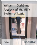 Analysis of Mr. Mill's System of Logic