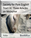 Tract XI: Three Articles on Metaphor