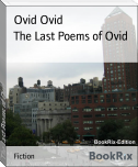The Last Poems of Ovid