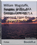 Parodies of Ballad Criticism (1711-1787) A Comment Upon the History of Tom Thumb, 1711,