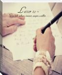 Letter to -