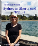 Sydney in Shorts und T-Shirt