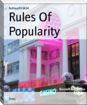 Rules Of Popularity