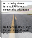 An industry view on turning ERP into a competitive advantage