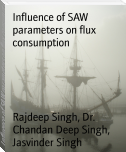 Influence of SAW parameters on flux consumption