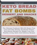 Keto Bread Fat Bombs and Snacks