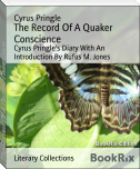 The Record Of A Quaker Conscience