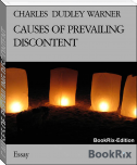 CAUSES OF PREVAILING DISCONTENT