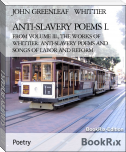 ANTI-SLAVERY POEMS I.