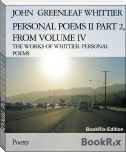 PERSONAL POEMS II PART 2, FROM VOLUME IV