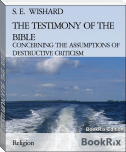 THE TESTIMONY OF THE BIBLE