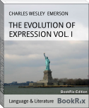 THE EVOLUTION OF EXPRESSION VOL. I