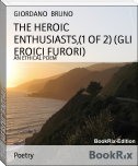 THE HEROIC ENTHUSIASTS,(1 OF 2) (GLI EROICI FURORI)