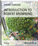 INTRODUCTION TO ROBERT BROWNING