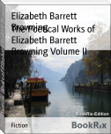 The Poetical Works of Elizabeth Barrett Browning Volume II