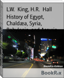 History of Egypt, Chaldæa, Syria, Babylonia, and Assyria