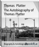 The Autobiography of Thomas Platter