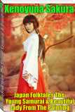 Japan Folktales The Young Samurai & Beautiful Lady From The Painting
