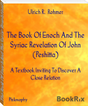 The Book Of Enoch And The Syriac Revelation Of John (Peshitta)