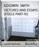 LECTURES AND ESSAYS (FISCLE PART-IV)