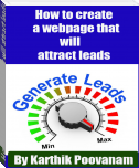 How to create a webpage that will attract leads
