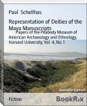 Representation of Deities of the Maya Manuscripts