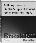 On the Supply of Printed Books from the Library