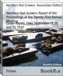 Northern Nut Growers Report of the Proceedings at the Twenty-First Annual Meeting