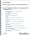 german-english wordlist manufacturing engineering
