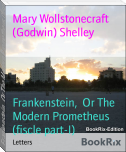 Frankenstein,  Or The Modern Prometheus (fiscle part-I)