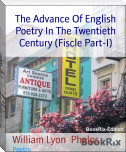 The Advance Of English Poetry In The Twentieth Century (Fiscle Part-I)