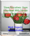 Slave Narratives: From Interviews With Former Slaves (fiscle part-I)        Georgia Narratives,  Part 3