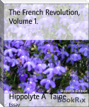 The French Revolution, Volume 1.