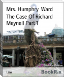 The Case Of Richard Meynell Part 1